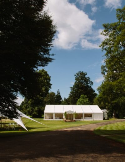 Marquee and Star tent