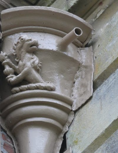 Downpipe Hopper detail