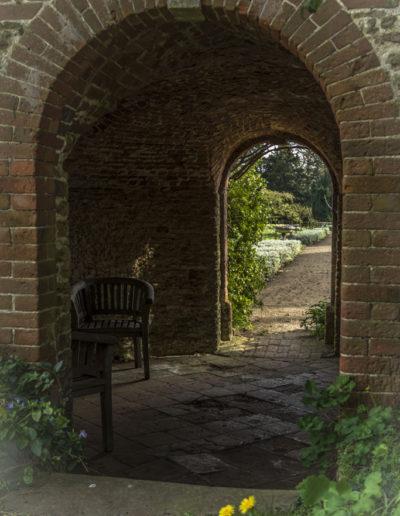 Pavilion undercroft