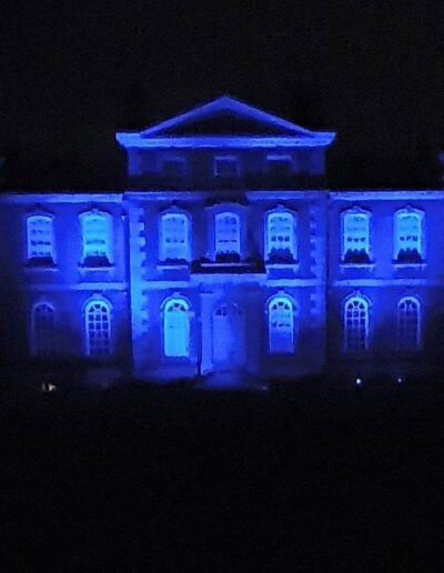 KBH Lit up for NHS