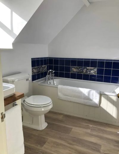 The ensuite bathroom attached to the master bedroom.